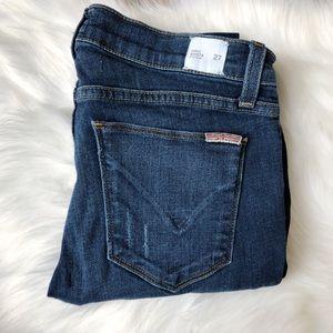Hudson Krista Super Skinny Ankle Distressed Jeans